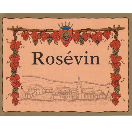 Vinetiketter Ljusröda Rosévin 30 st.