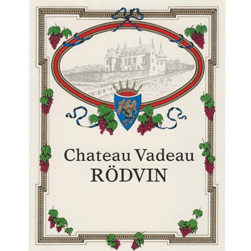 Vinetiketter Vita Chateau Vadeau Rödvin 30 st