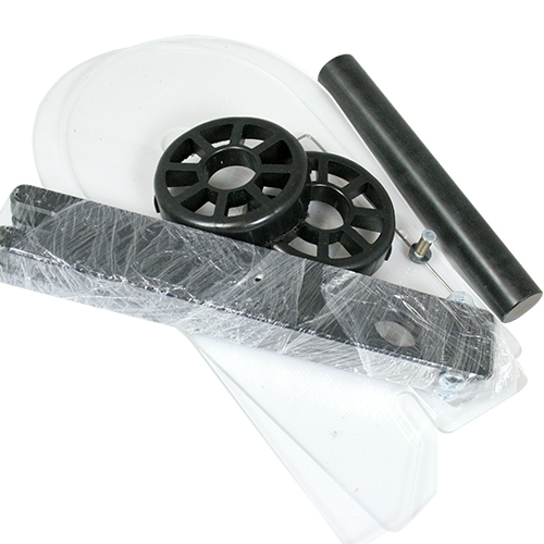 Etikettrullhållare kompletta för snabbare etikettbyte