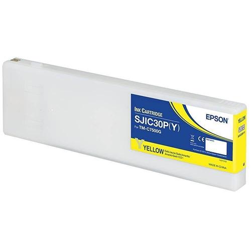 Epson C7500G superdrygt gult bläck 294 ml