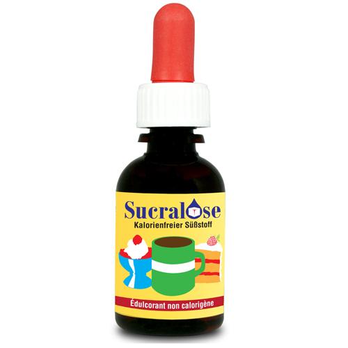 Sucralose sötmedel 33 ml Tysk/Fransk