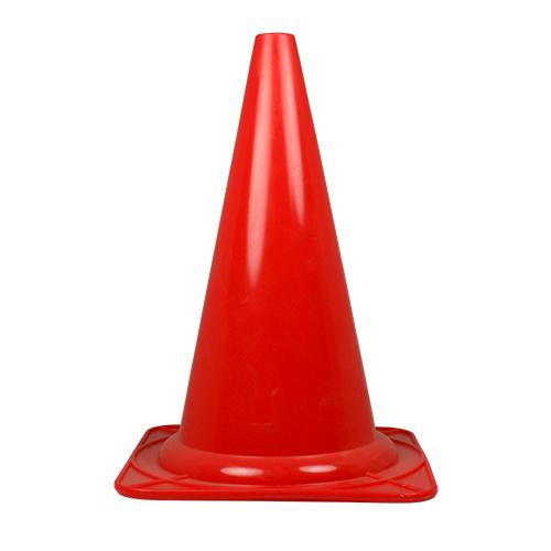 Plastkon för lydnadstävling stor Röd 28 cm