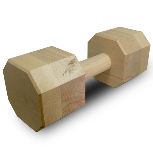 Apportbock IPO/BHP 2 kg av trä