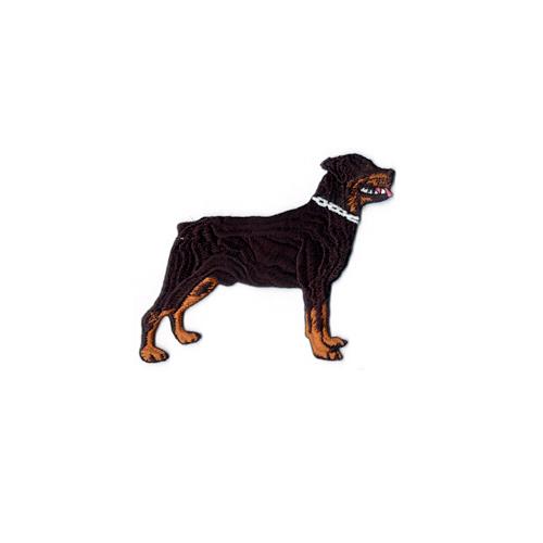 Brodyrmärke Rottweiler whole dog