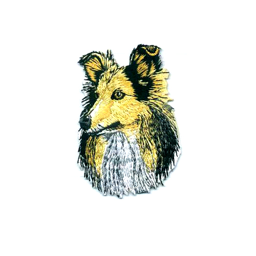 Brodyrmärke Shetland Sheepdog