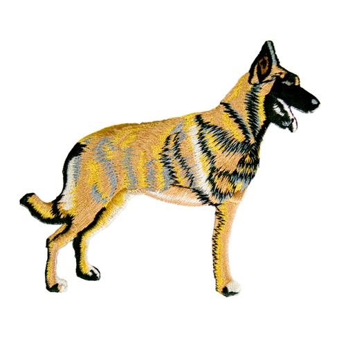 Brodyrmärke Malinois whole dog