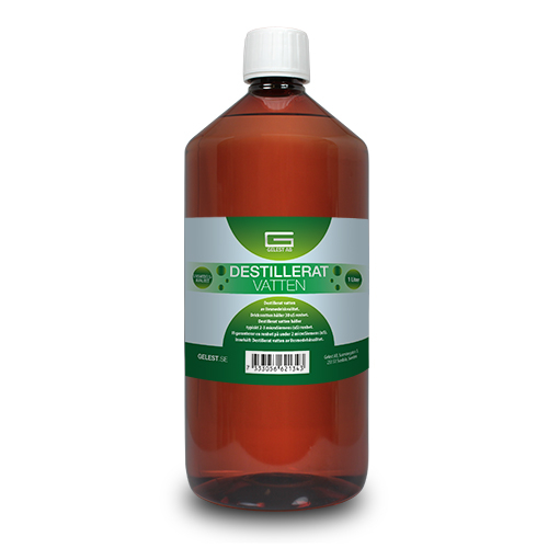 Destillerat vatten Gelest 1 Liter