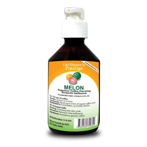 Sockerfri kaffearom Melon 270 ml
