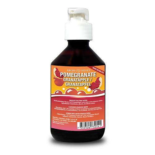 Granatäpple pumpflaska ger 135 liter dryck 270ml