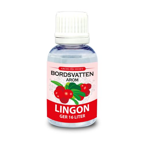 Lingon 32 ml Bordsvattenarom för kolsyrat vatten