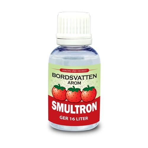 Smultron 32 ml Bordsvattenarom för kolsyrat vatten inklusive pipett