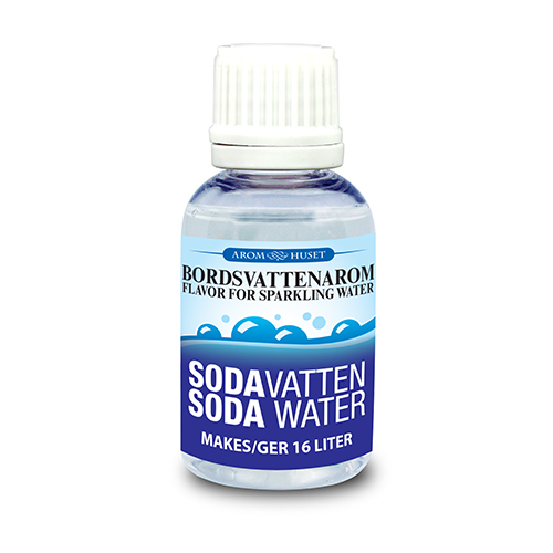 Sodavatten 32 ml Bordsvattenarom för kolsyrat vatten