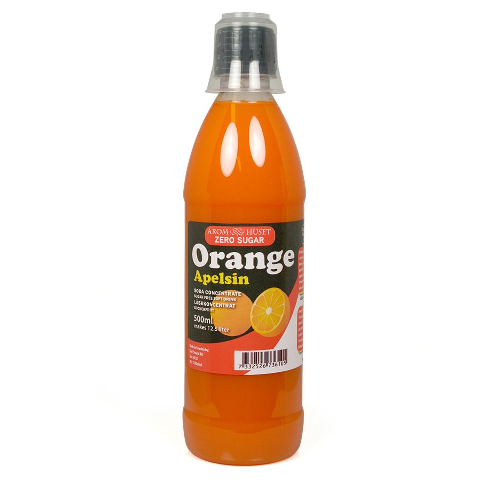 Zero Apelsin Läskkoncentrat till 12 5 L läsk