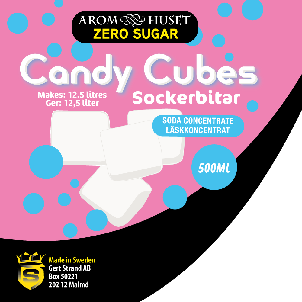 Zero Candy Cubes softdrink concentrate 500ML
