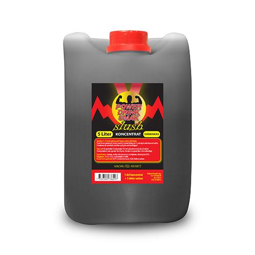 SLUSH Powerdrink smak koncentrat 5L spädes 1+5