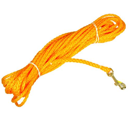 Orange spårlina 15 m / 6 mm