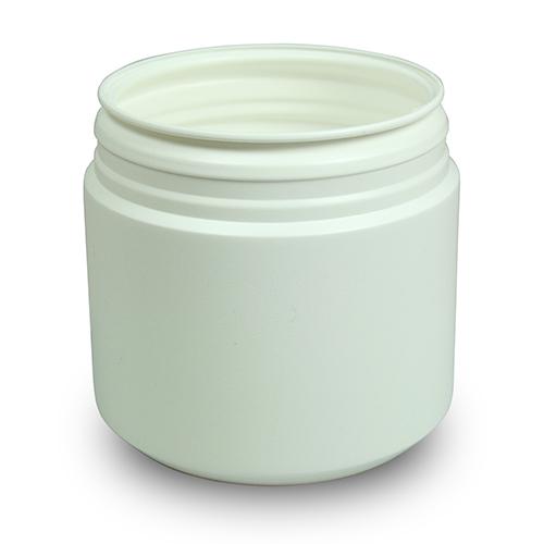 Medicinburk 500 ml med lock som har garantiförslutning