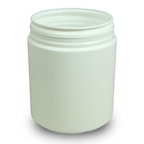 Medicinburk 750 ml med lock som har garantiförslutning