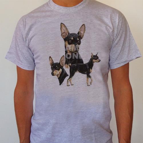 T-Shirt Dvärg Pinscher Small