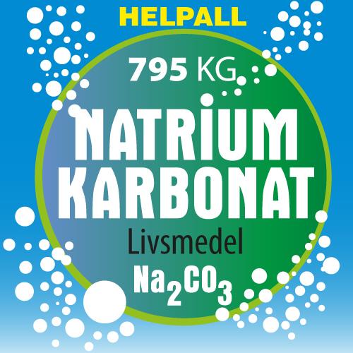 Natriumkarbonat 795 KG - Helpall